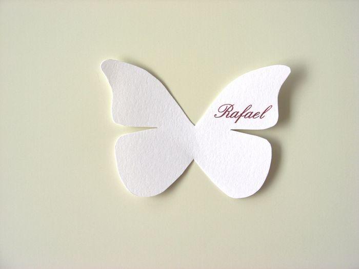 Tutorial invitaciones y marcasitio mariposas - Dibujos para paredes de bebes ...