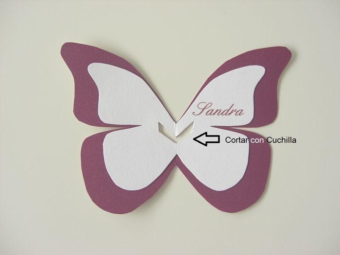 opcional se le puede agregar textura a la mariposa por debajo ver sobre texturas en la explicacin de la invitacin debajo