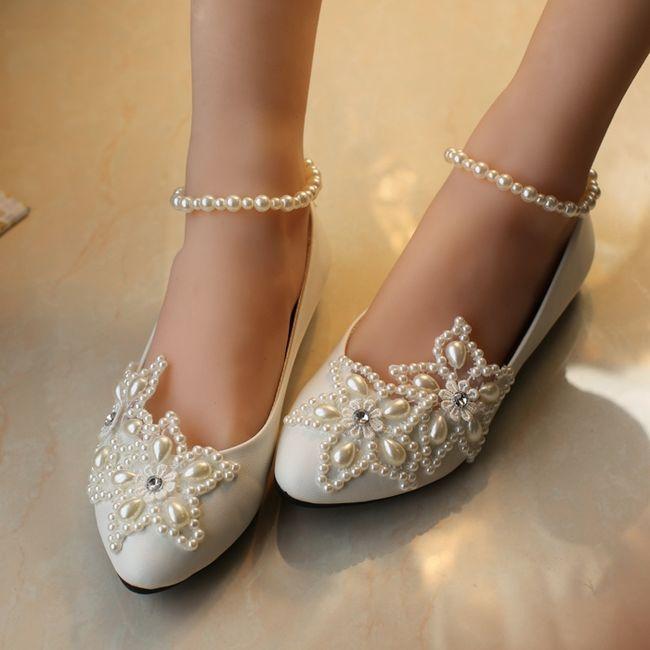 39 zapatos planos para novias - 1
