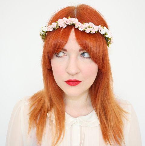 Coronas Flores Para Pelo Moda Nupcial Foro Bodasnet - Flores-en-el-pelo-para-bodas
