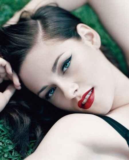 Inspiración maquillaje para labios rojos - 6
