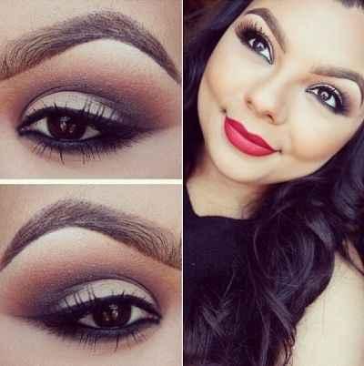 Inspiración maquillaje para labios rojos - 16