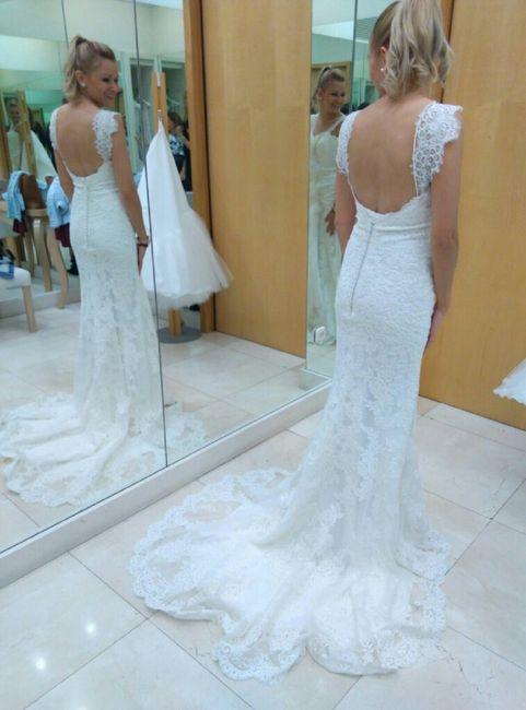 Vestido de novia sin sujetador