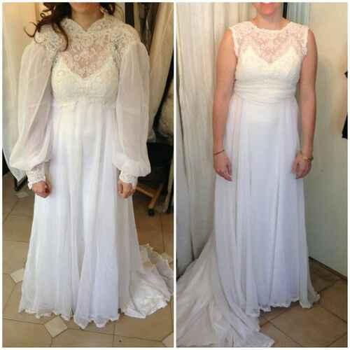 Vestido de novia heredado - 1