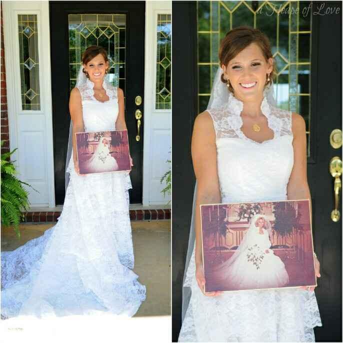 Vestido de novia heredado - 3