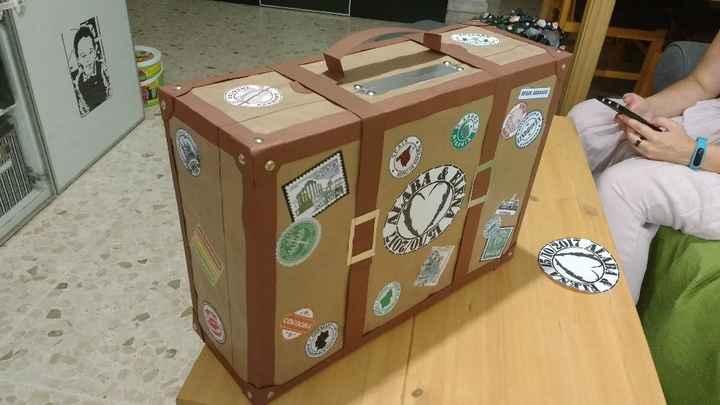 Caja para sobres de dinero - 1