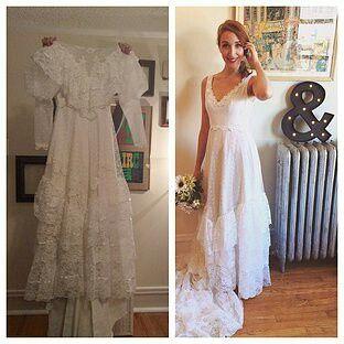 Vestido de novia heredado - 2