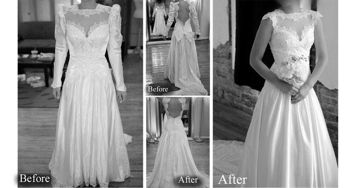 Vestido de novia heredado - 4