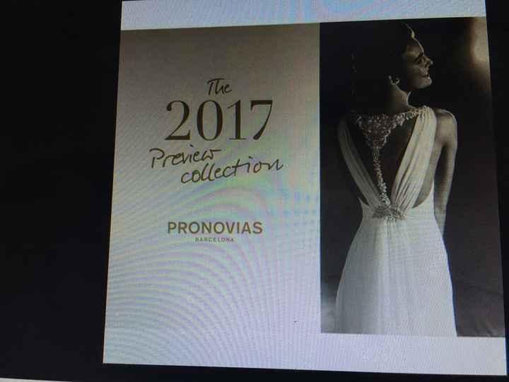 En busca de este modelo de pronovias colección 2017 - 1