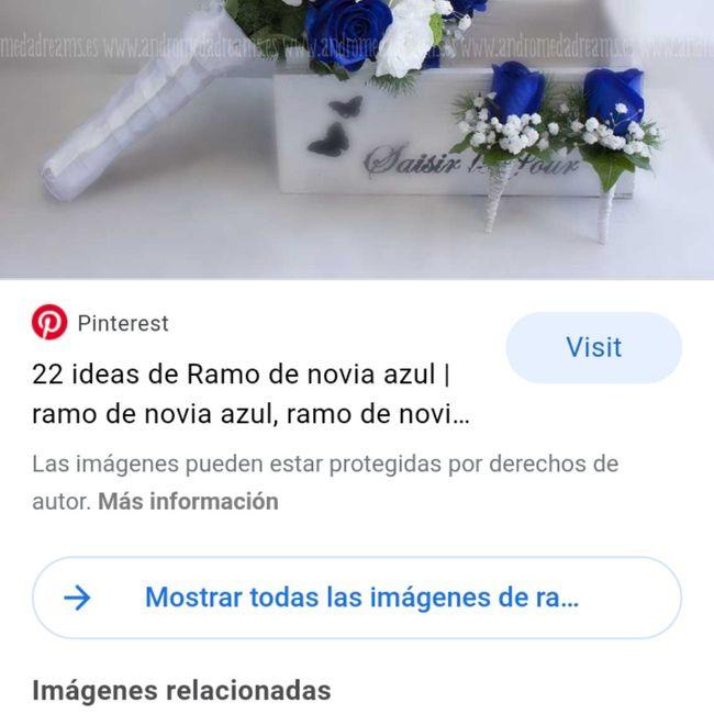 Ramo de novia azul? 1