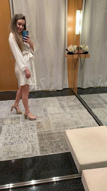 Vengo de la primera prueba del vestido y estoy Living! - 1