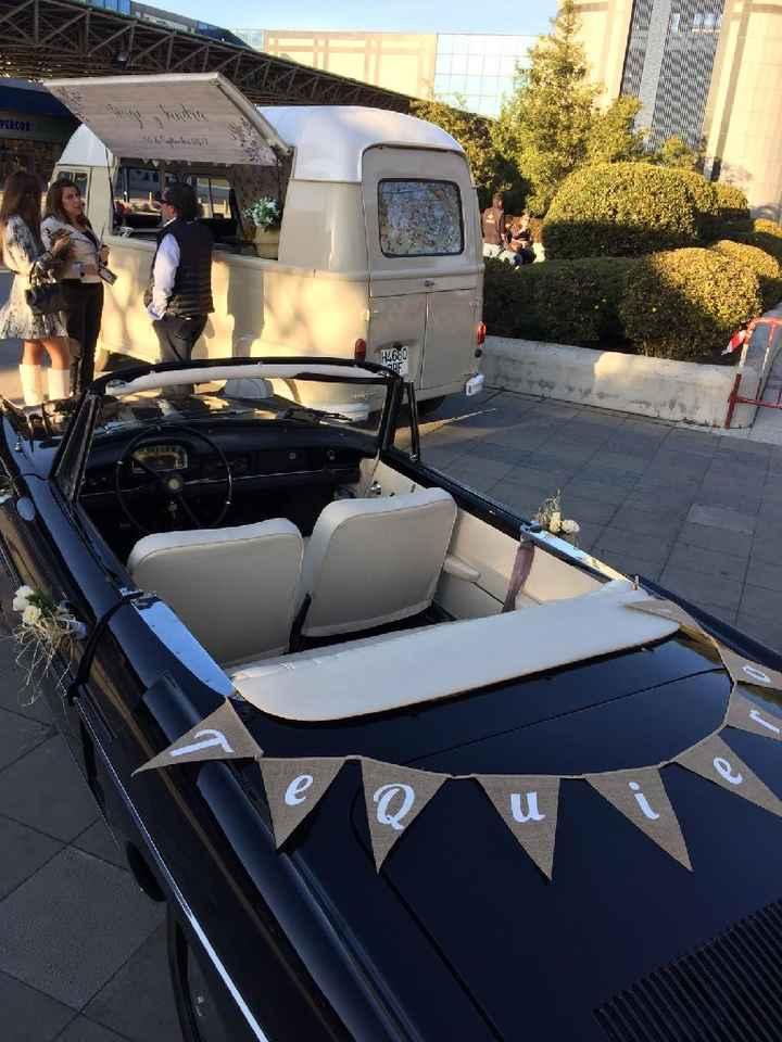 Cuál será el coche de la novia? - 1