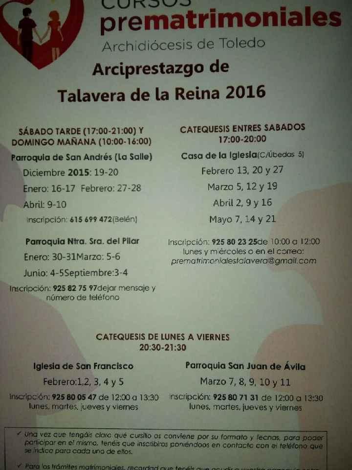 Cursillos en talavera 2016 - 1