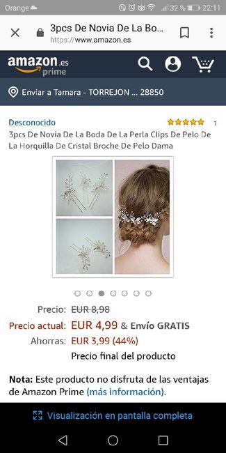 Adorno de pelo novia - 1