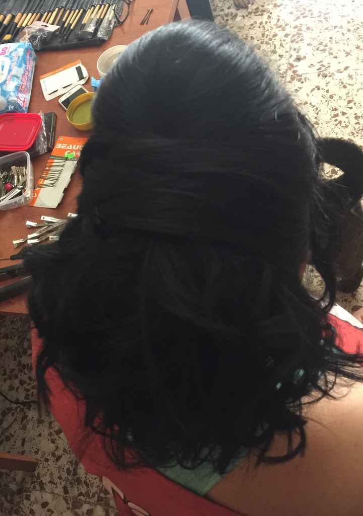 Peinado boda y postboda - 2