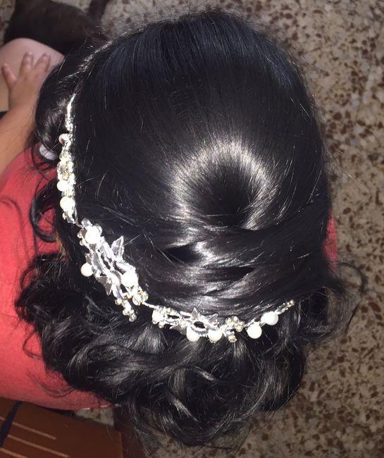 Peinado boda y postboda - 1