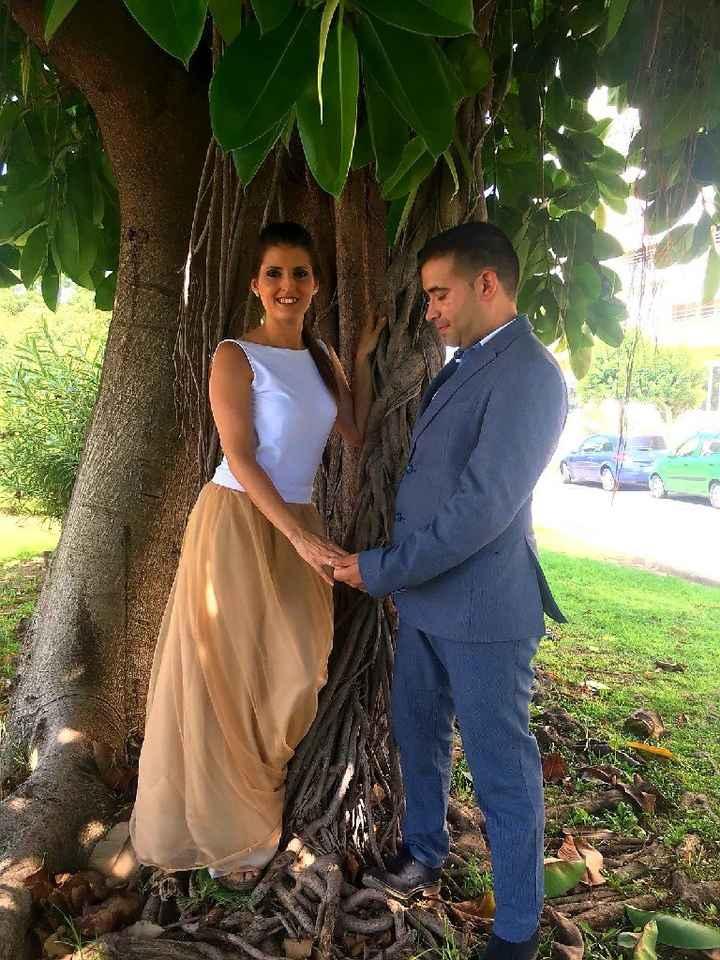 Vestidos de novia con falda de tul... ¡de color! - 1