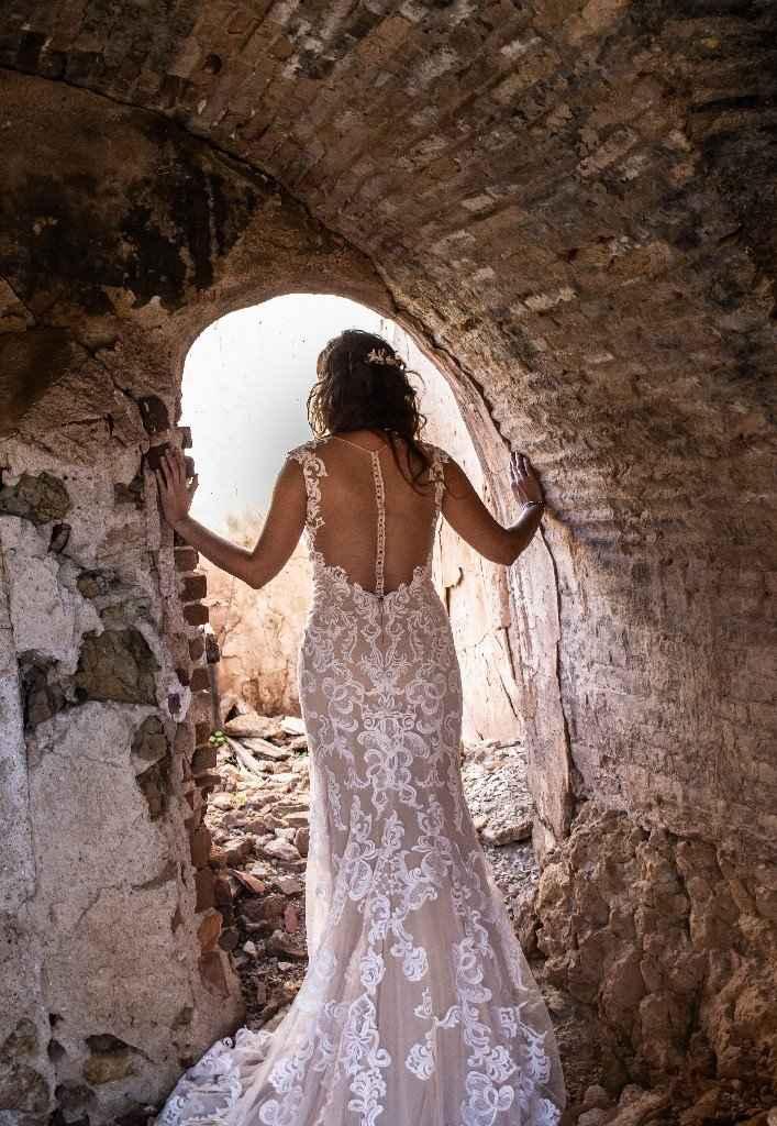 Vestidos de novia con falda de tul... ¡de color! - 2