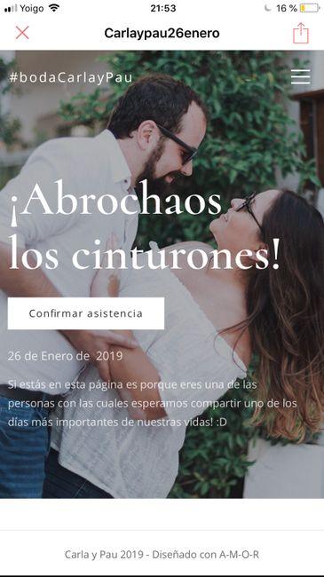 Webpage boda 💁🏻♀️ - 1