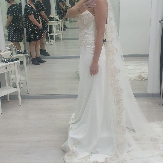 Enamorada de mi vestido ❤ 2