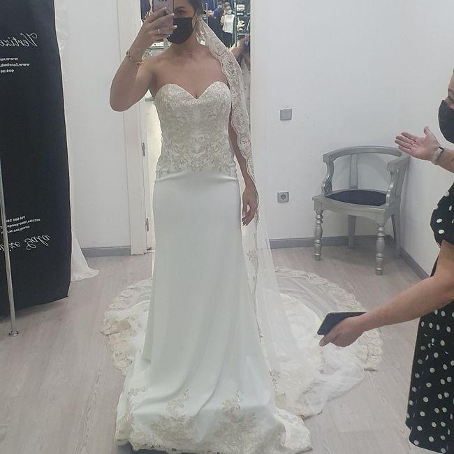 Enamorada de mi vestido ❤ 1