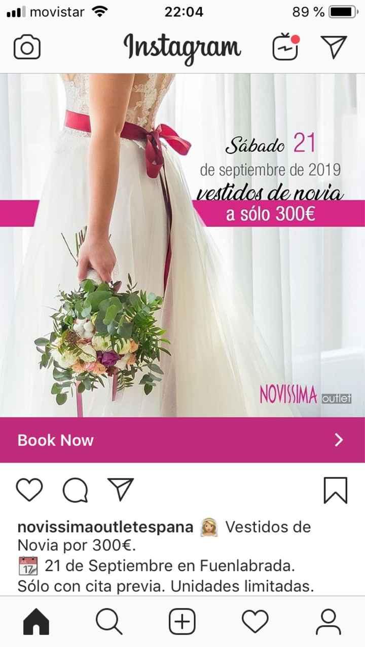 Vestido de novia barato - 1