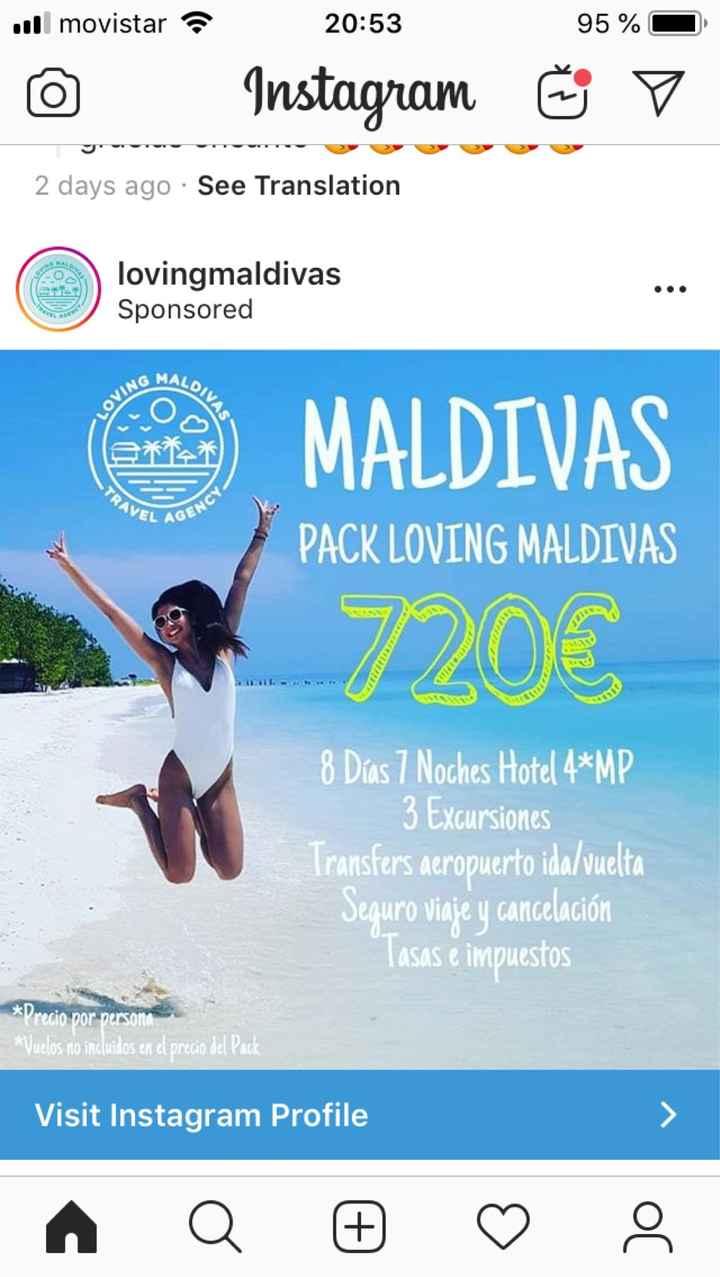 ¿maldivas? - 1