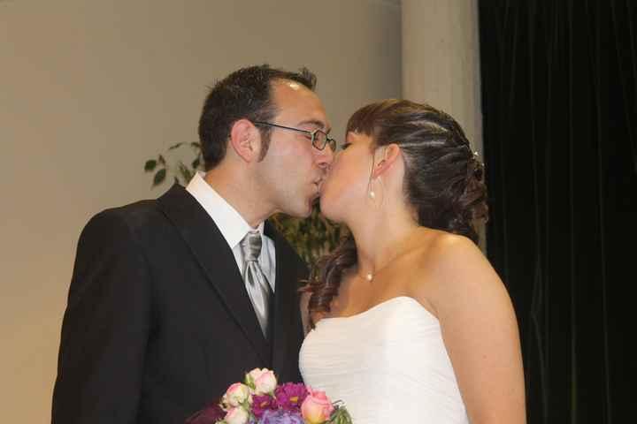 Ya somos recien casadoos!