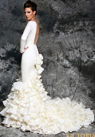 vestidos de novia flamencos - moda nupcial - foro bodas