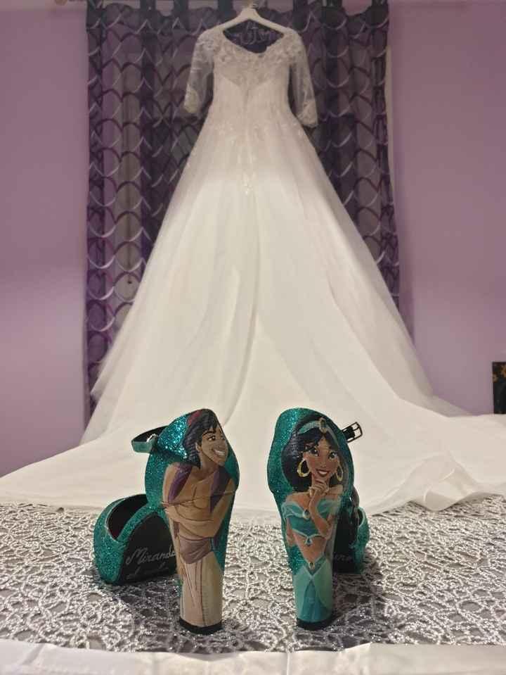 ¿De qué color son vuestros zapatos de novia? - 2