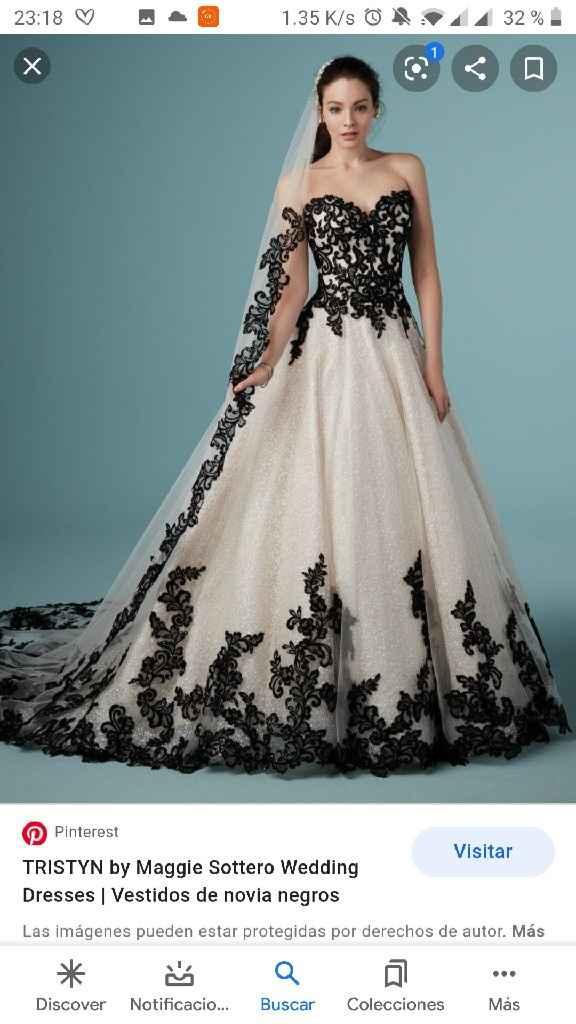 Vestido novia. - 1