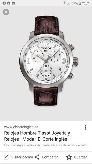 Reloj novio - 1