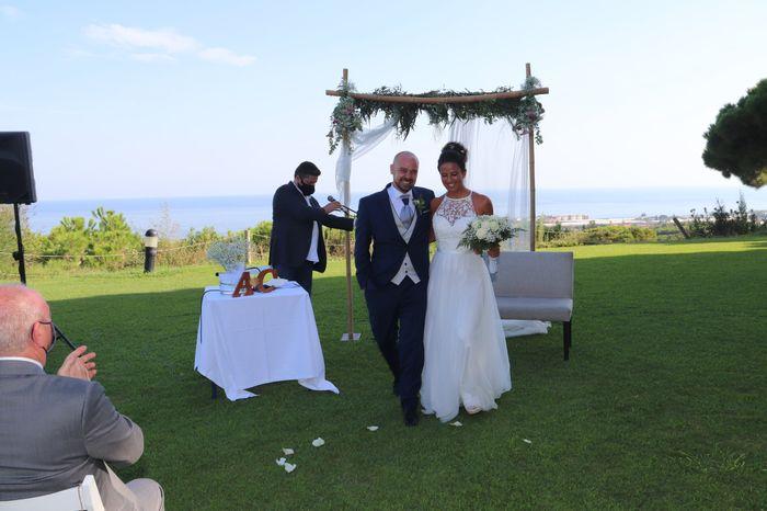 Novios que nos casamos el 1 de Agosto de 2020 en Barcelona 1