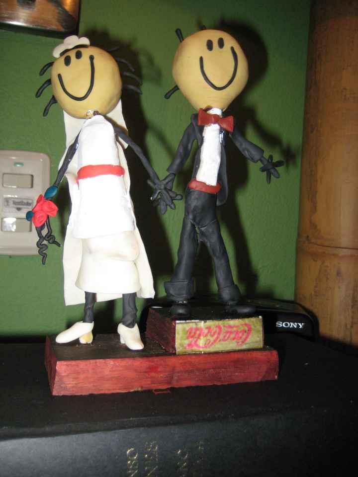 Muñecos de tarta III