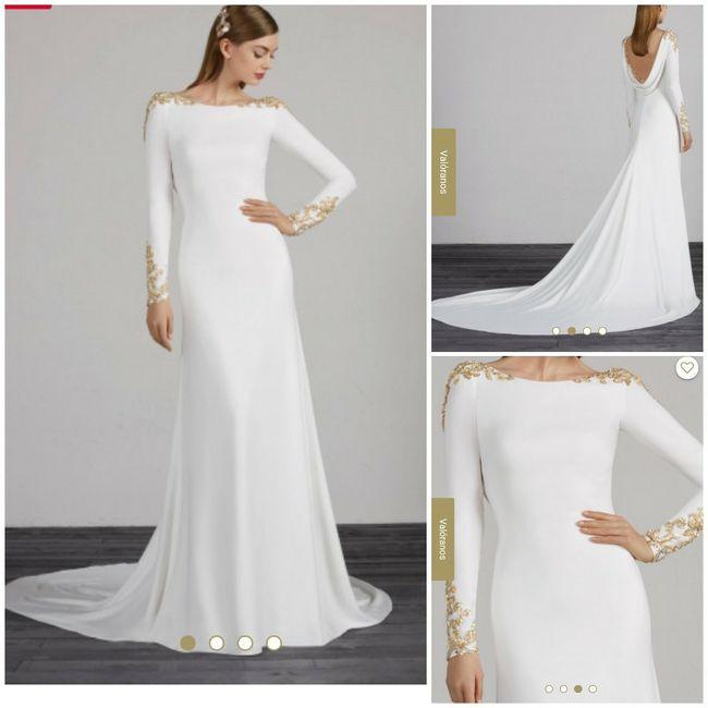 ¿Cuál es el estilo de tu vestido? - 1