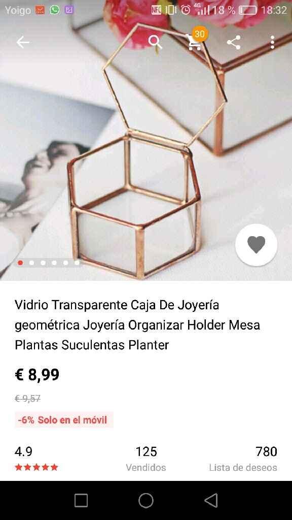 Musgo para caja de anillos - 1