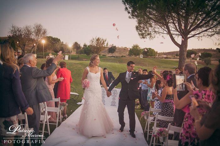 Recién, recién casados!!