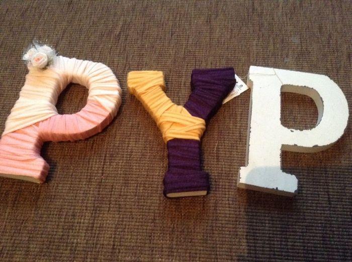 Ayuda c mo decorar letras madera manualidades foro - Como decorar letras de madera ...