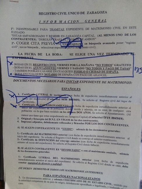 Matrimonio civil - - - cita registro civil - 1