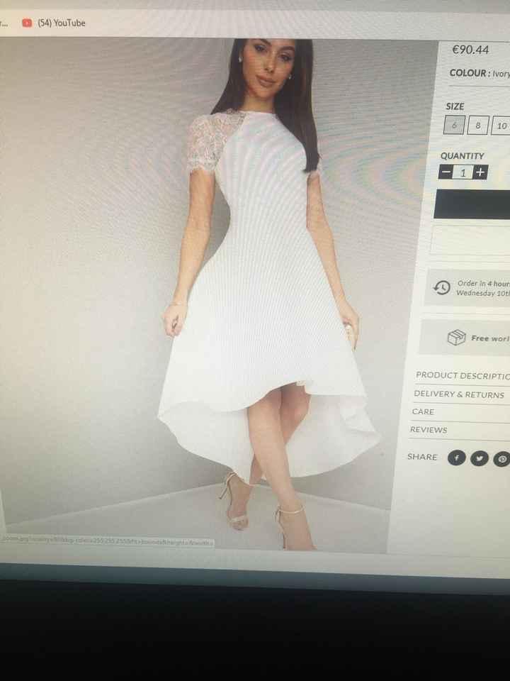 Vestido de novia en Chi Chi London - 1