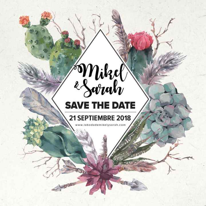 Save the date!! - 1