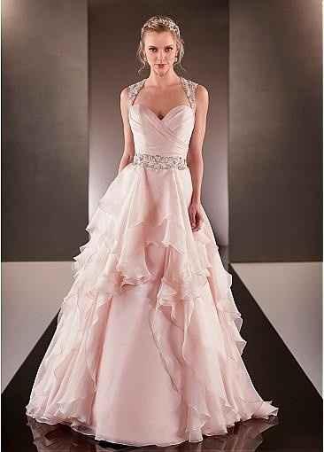 Vestido rosa de novia si o no?? - 1