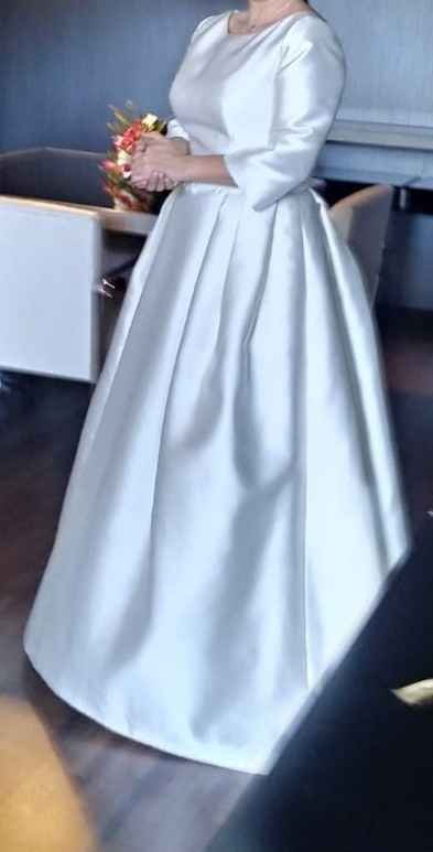 Vestido de novia de invierno - 1