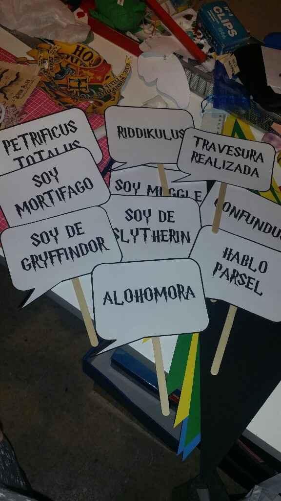 "Mi boda ""Harry Potter"" - 7"