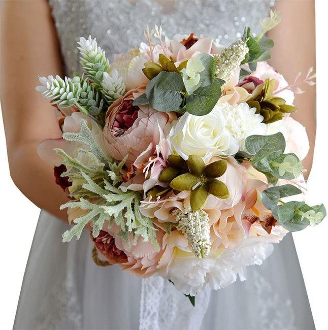 Ramo de flores de seda, ¿sí o no? 1