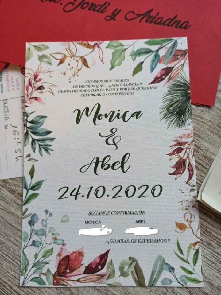 Invitación de boda - 2