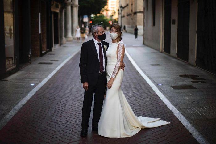 Finalmente casados en los tiempos de Covid!! 25