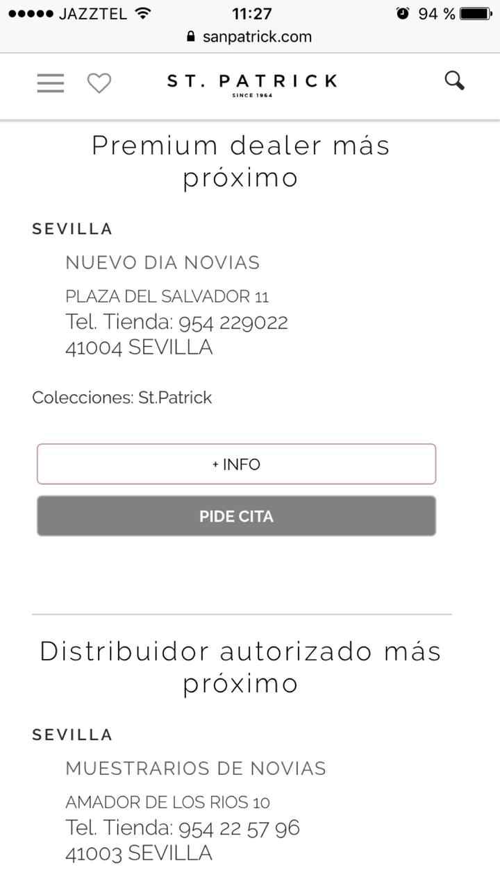 Tienda St Patrick en Sevilla? - 1