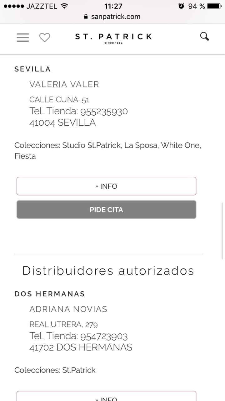 Tienda St Patrick en Sevilla? - 3