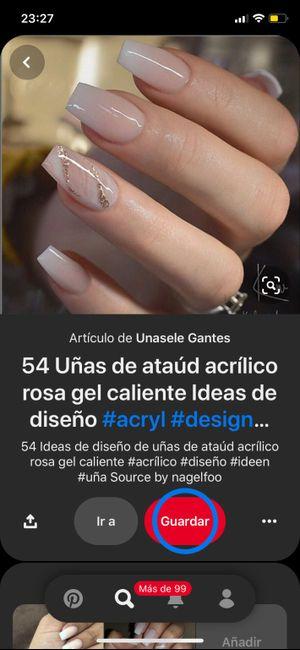 Ideas para la manicura del día B 14